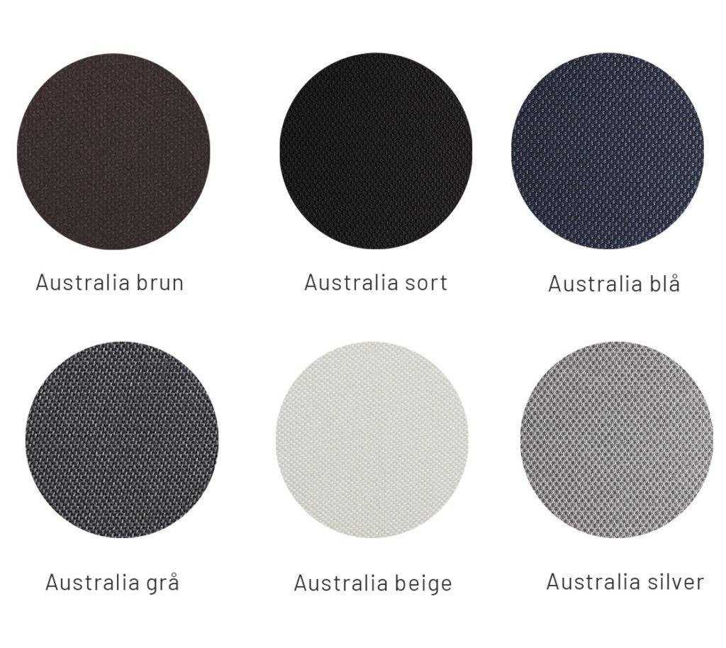 Nexus-stof-farver
